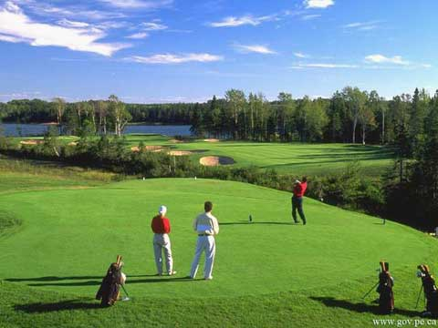 Over 25 Golf Courses in PEI